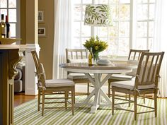Great Rooms Collection- Garden Breakfast Table and Side Chair