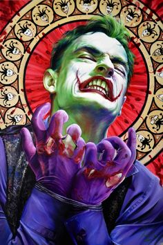 The Joker JEEZ, I REALLY FEEL BAD FOR YOU, WOULD YOU LIKE ME TO HELP ? OR LET YOU BURN LIKE YOU DID ME ?