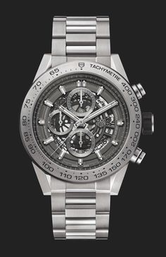 TAG Heuer Carrera Heuer-01 Titanium Grey Phantom