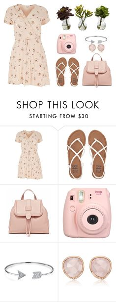 """""""back to spring"""" by me-ez ❤ liked on Polyvore featuring River Island, Billabong, Bling Jewelry, Monica Vinader and Nearly Natural"""