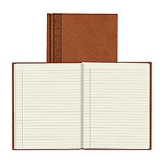 Da Vinci Executive Journal 9 14 x 7 14 Tan by Office Depot & OfficeMax