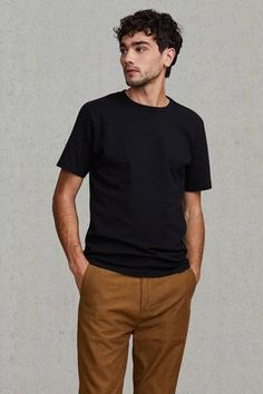 Levi's Made and Crafted 80oz Tee - Jet Black