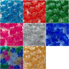 Flower Pony Beads 13mm Choose Your Finish Ideal For Dummy Clips