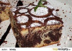 Duhové Salko řezy recept - TopRecepty.cz Kolaci I Torte, Oreo Cupcakes, Tiramisu, Rum, Nom Nom, Good Food, Sweets, Cookies, Ethnic Recipes