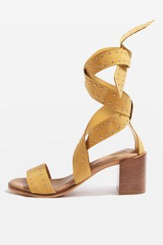 VANILLA Ankle Tie Sandals