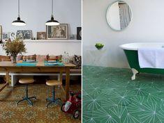 Swedish design tiles, such creativity!  www.contemporarytiles.se