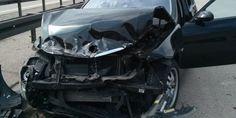 """Bei diesem BMW löste der Airbag korrekt aus.Zu diesen 33.600 Fahrzeugen mit fehlerhafter Software kommen noch einmal 650 weitere PKW von BMW: """"Des Weiteren wurde in ca. 650 Fahrzeugen ein fehlerhaftes Ersatzteil verbaut. Auch diese Automobile sind Gegenstand des Rückrufs."""""""