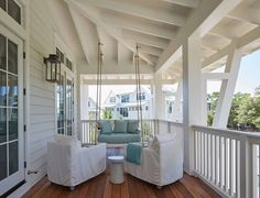porch swing | Geoff Chick & Associates