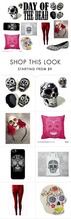 """""""Untitled #203"""" by beastblade on Polyvore featuring interior, interiors, interior design, home, home decor, interior decorating, T.U.K. and Dayofthedead"""