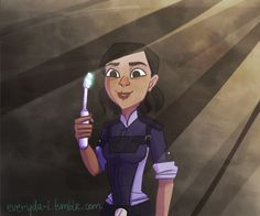 ...Traynor is comming for you with her toothbrush. by HidroMiel