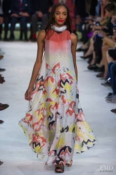 Photo feat. Jourdan Dunn - Missoni - Spring/Summer 2013 Ready-to-Wear - milan - Fashion Show | Brands | The FMD #lovefmd