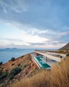 Ring House by Deca Architecture located in Crete Region, Greece . Photo by George Messaritakis Architecture Durable, Modern Architecture House, Residential Architecture, Modern House Design, Interior Architecture, Loft Design, Interior Design, Architecture Sketchbook, Room Interior