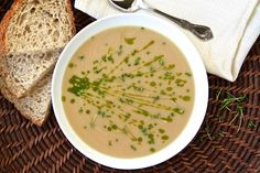 Celeriac and Roasted Garlic Soup Recipe - RecipeChart.com