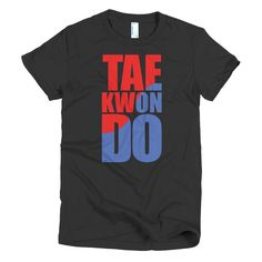 Taekwondo Short Sleeve Women's T-Shirt