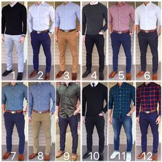 """Chris Mehan (@chrismehan) on Instagram: """"Which outfit was your favorite from March❓ Enjoy the rest of your weekend❗️❗️ """" #casualmalefashion,"""