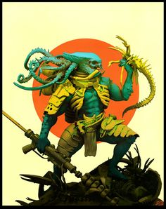 The Art Of Pascal Blanche, an art director at Ubisoft best known for his graphic 3D illustrations.