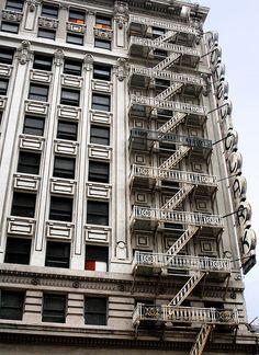 Hotel Clark (1912), 426 S. Hill Street, Los Angeles, CALIFORNIA.    (by lumierefl, via Flickr)