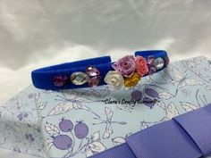 Rosy Blue Headband