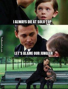 #JunglerProblems in League of Legends