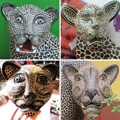Behind the Design: Jaguar Masks