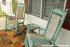 chalk paint rocking chair makeover annie sloan, chalk paint, outdoor furniture, painted furniture