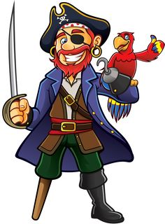 Pirate and Parrot. Pirate was standing holding a drawn sword with a parrot perch , Pirate Hats, Pirate Skull, Pirate Theme, Images Pirates, Pirate Images, Home And Auto Insurance, Cheap Car Insurance, Photos Hd, Stock Photos