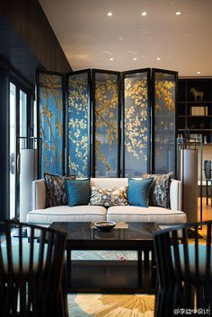 Asian Design Living Room Fascinating Best 15 Oriental Room Dividers Ideas  Oriental Divider And Asian Inspiration Design