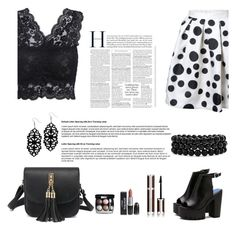 """shein 1 /  10"" by mell-2405 ❤ liked on Polyvore featuring Chanel, Givenchy and Bling Jewelry"