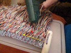 le site du Cercle de Fermières St-Gilbert - Techniques & patrons gratuits - Lavette à vaisselle - tricot