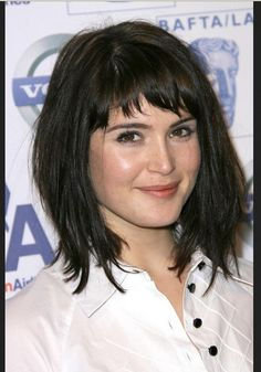 short bangs for round faces - Google Search