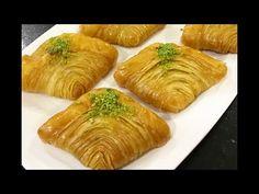 Midye Tatlısı Tadına Doyamayacağınız Bir Tatlı👉🏻BERA TATLİDUNYASİ - YouTube Sweets Recipes, Cake Recipes, Cooking Recipes, Arabic Sweets, Arabic Food, Cake Videos, Homemade Desserts, Spanakopita, Beautiful Cakes