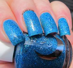 Bright Blue Sky swatched by @graciezac