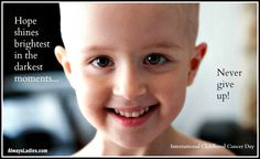 Childhood Cancer Awareness | Always ladies