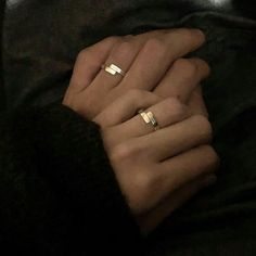 Image uploaded by CHLOE. Find images and videos about couple, aesthetic and hands on We Heart It - the app to get lost in what you love. Wedding Fotos, Couple Holding Hands, Korean Couple, Ulzzang Couple, Couple Aesthetic, Matching Rings, Cute Relationships, Gay Couple, Promise Rings