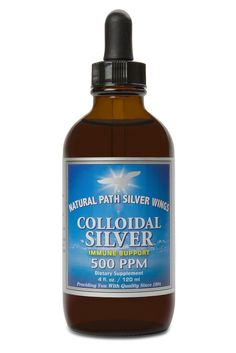 Mineral Supplement, Colloidal Silver