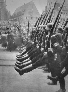 In the earliest days of the NSDAP, leaders realized that bodyguard units composed of trustworthy and loyal men would be a wise development. Ernst Röhm formed a guard formation from the 19 Granatwerfer-Kompanie, and from this formation the Sturmabteilung (SA) soon evolved.