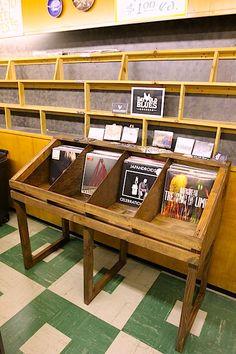 Vinyl Record Bin - Matthew Cassity