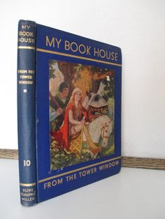 Vintage 1937 book My Book House From the by vintageboxofdelights, $22.00