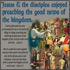 Preaching the good news