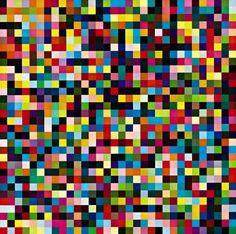 1024 Farben (Catalogue Raisonné: 356-3), 1974, oil on canvas, Gerhard Richter