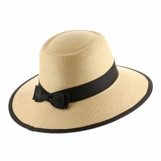 Rare and incredibly elegant. The tediously handwoven Tiffany Planter Straw Panama Hat is a work of art. So fancy yet modest this hat is a great way to show class and character.