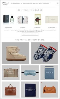 For all the travelers and wanderers out there, check out the new website of Capsule de Plume by Plume Voyage and shop your travel essentials for your next trip!  ✈️✨  https://www.capsuledeplume.com/