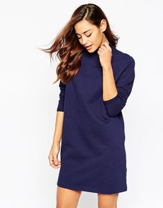 Image 1 ofASOS Sweat High Neck Dress