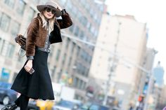 Pin for Later: Catch Up on All of NYFW's Best Street Style Day 3 Danielle Bernstein