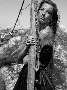 Interview Magazine - Slideshow - Daria Werbowy by Mikael Jansson
