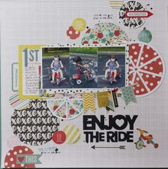 Enjoy the ride - Scrapbook.com