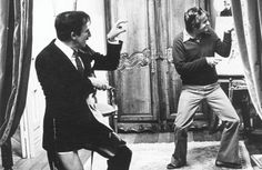 Peter Sellers and Blake Edwards