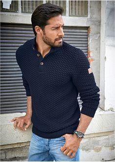 Αποτέλεσμα εικόνας για ανδρικα πουλοβερ Men Sweater, Mens Fashion, Outfit, Sweaters, Mens Tops, T Shirt, Fall, Men Fashion, Autumn