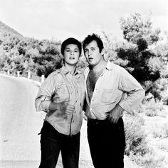 'Η Αρχόντισσα Και Ο Αλήτης' (1968) Old Greek, Classic Movies, Cinema, Actors, Couple Photos, Couples, Celebrities, House, Couple Shots