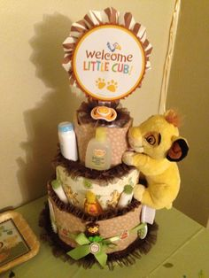 Lion King Baby Shower For Boys Gifts Super Ideas Cute Baby Shower Gifts, Baby Shower Parties, Baby Shower Themes, Baby Shower Decorations, Baby Gifts, Shower Ideas, Diy Shower, Baby Showers, Lion King Nursery